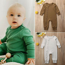 0-24M Newborn Baby Rompers Long Sleeve Baby
