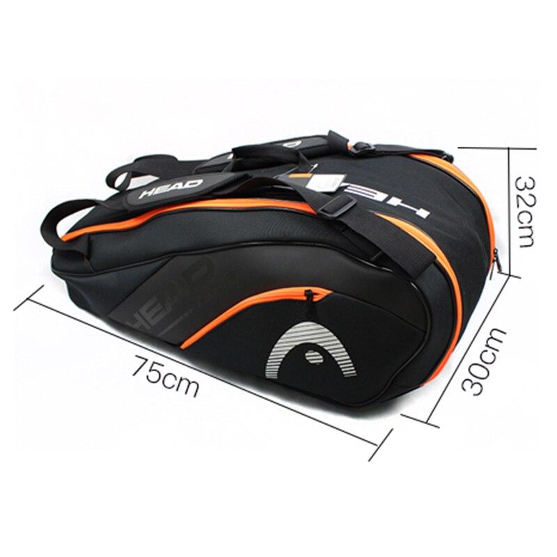 UNICALLING, роскошная сумка для фитнеса из натуральной кожи, большая вместительность, Стильная Спортивная кожаная сумка для спортзала, рюкзак, м... - 5