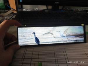 8,8 дюймов IPS длинная полоса Дисплей растягивается бар HDMI Mipi Дисплей Aida64 монитор USB 5V Мощность второй Дисплей тонкий 1920*480