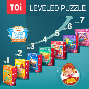 TOI Children Leveled Puzzle Ad