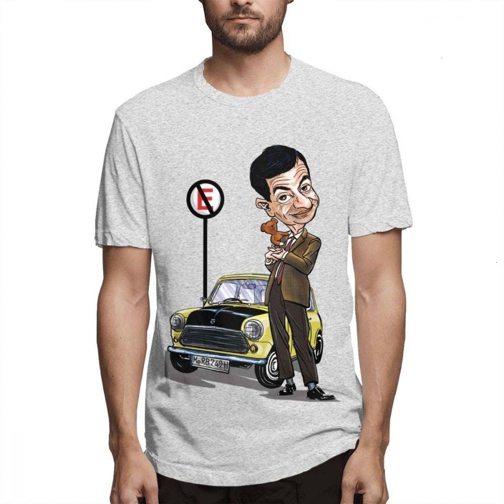 """Mens Homme Summer Casual Short Sleeved T-shirts /""""Mini Cooper/"""" Print Design Tee"""