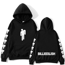 Billie Eilish Fashion Printed Hoodies Women/Men Long Sleeve Hooded Sweatshirts 2019 Hot Sale Casual Trendy Streetwear