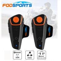 Fodsport-Pro Interphone Moto FM | 2 pièces  Bluetooth  Moto  Moto  Moto  Bluetooth  Bluetooth  BT  étanche sans fil  casque