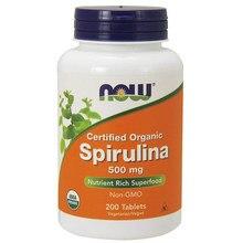 Spiruline biologique certifiée, 500 mg, super aliment riche en nutriments, sans o 200, comprimés, livraison gratuite