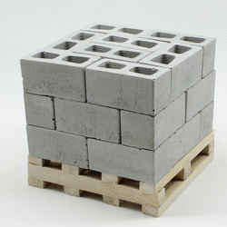 Miniature model building  1:10 1:12  DIY House  Building Scene Model Making Material  Model bricks  50pcs/bag