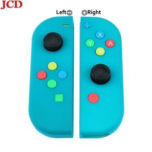 Image 5 - Сменная Крышка корпуса JCD для Nintendo for Switch for Joy Con Controller с отверткой, джойстиком и клавишной кнопкой