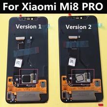 AMOLED Cho Xiaomi Mi8 PRO Mi 8 Nhà Thám Hiểm Màn Hình Trong Vân Tay Màn Hình Hiển Thị LCD + Tặng Bộ Số Hóa Cảm Ứng Thay Thế