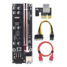 6pin-Connector Pci Express Ver009s-Plus for Graphics Video-Card Mining Usb-3.0-Cable