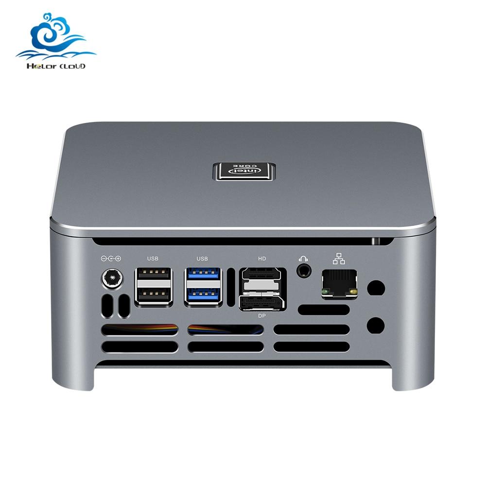 8th 9th Gen Barebone Mini PC Intel Core i9 9880H i7 9850H i5 Gaming Graphics Dual DDR4 M.2 Desktop Embedded Industrial Computer