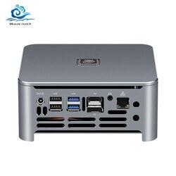 8th 9th Gen Barebone Mini PC Intel Core i9 9880H i7 9850H i5 gráficos de juegos Dual DDR4 M.2 escritorio integrado ordenador Industrial