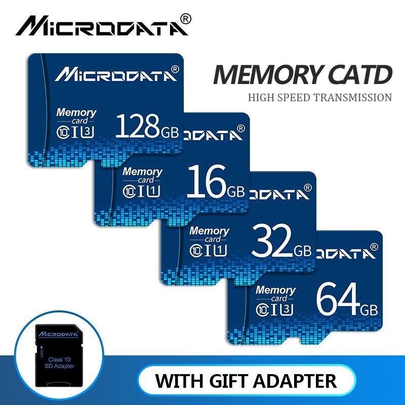 Tarjetas de memoria Micro SD de alta velocidad, 8GB, 16 GB, 32 GB, 64GB, Clase 10, almacenamiento, 128gb, 256gb, TF, para teléfono/tableta y PC