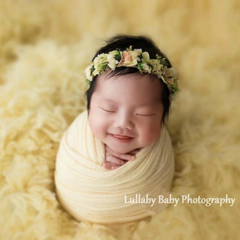 bandana do bebe flor seca hairband 01