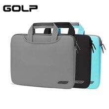 все цены на Laptop Sleeve Case for Huawei Matebook X Pro 13.9 2019, GOLP Laptop Bag Full Cover for Huawei Matebook 13 14 Bag онлайн