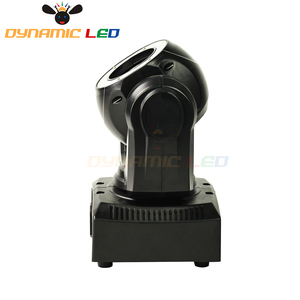 Image 4 - Mini 60W Hareketli Kafa Işık Led Halo Etkisi Ile Işın Led Sahne aydınlatma RGBW 4in1 dj ışığı