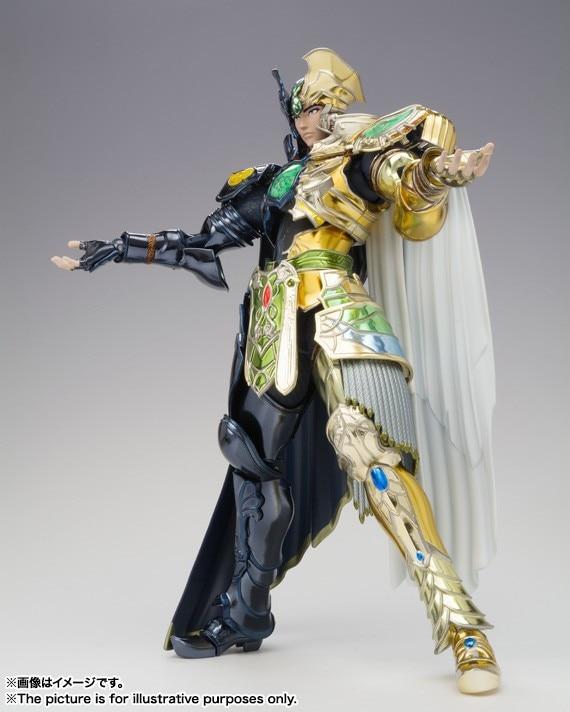 Nouveauté Original Bandai Gemini saga kanon tissu mythe Saint Seiya Lc modèle Action jouet figurines à collectionner cadeau garçon