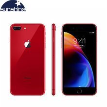 Original Apple iPhone 8 Plus 5,5 inch Touchscreen Hexa Core 12MP & 7MP Kamera iOS LTE Fingerprint Touch ID Mobile telefon(China)