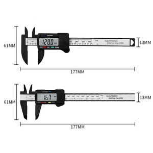 Image 2 - New Arrival 150mm 6 inch LCD Digital Electronic  Vernier Caliper Gauge Micrometer Measuring Tool