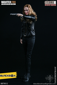 "Image 2 - BLACKBOX Toys BBT9012 GUESS ME SERIES ""WANTED FOX ASSASSIN"" 1/6 ACTION FIGURE"