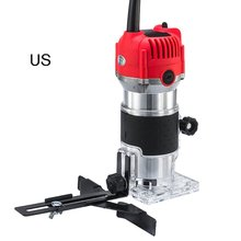 Trimmer Cutter Woodworking Electric Router Slotting-Trimming-Machine Multi-Function Wood Milling