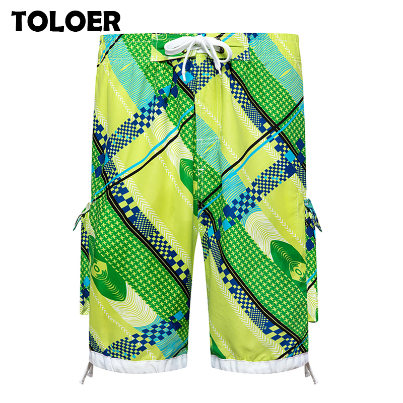 Hot Summer Beach Shorts Men 2020 Newest Men''s Printed Stripes Fashion Man Shorts Bermuda Beach Shorts Plus Size Short Men Male