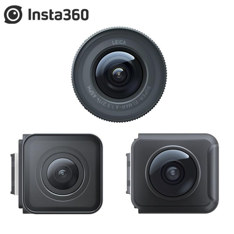 Insta360 One R Lens Mods 4K Wide Angle Mod Dual Lens 360 Mod 1 Inch Mod Lens for Insta 360 One R Accessories