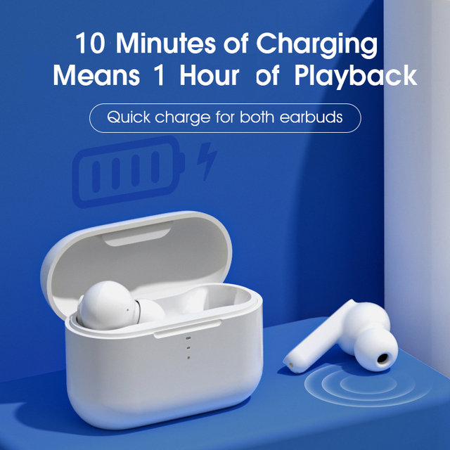 QCY T11 Dynamic-armature drivers earphone HiFi wireless headphone Bluetooth earbuds with 4 microphone HD call customizing APP 4