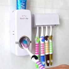 AA distributeur automatique de dentifrice famille porte-brosse à dents support mural