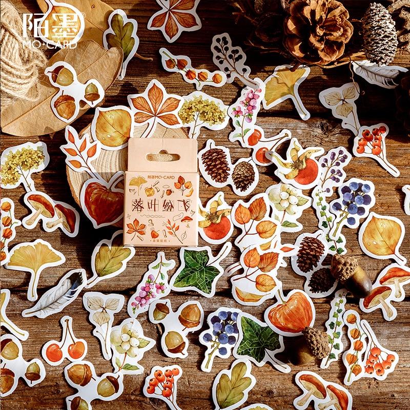 45 шт./кор. с цветочным рисунком Тотем памятки наклейки пакет DIY разместил его Kawaii планировщик для скрапбукинга наклейки канцелярские принадлежности, школьные принадлежности героя из мультфильма - Цвет: T