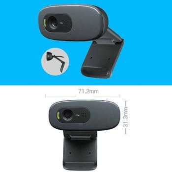 Digital External Webcam Camera USB Cameras High Definition Drive-Free for Online Class Conference NC99