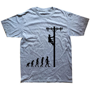 Image 2 - Evolution Of Lineman Funny Electrician T Shirt Gift
