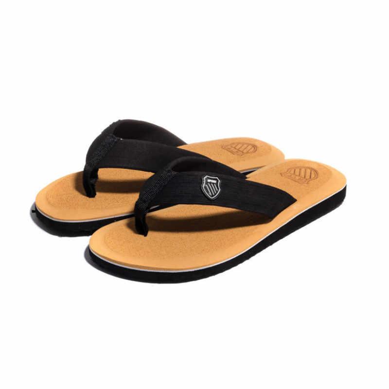 2019 جديد أحذية الرجال الصيف الرجال الوجه يتخبط عالية الجودة صنادل شاطئ المضادة للانزلاق Zapatos Hombre حذاء كاجوال شبشب رجالي