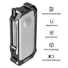Ulanzi C ONE X2 Beschermende Kooi Case Action Camera Rig Met Koud Shoe Mount Magnetische Actie Camera Mount Voor Insta360 Een x2