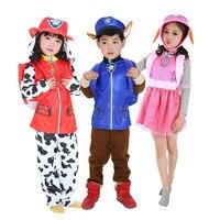 Детская одежда из трех предметов «Щенячий патруль» для детей от 2 до 6 лет маскарадный костюм рождественские костюмы для мальчиков и девочек