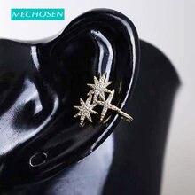 Новинка восьмиконечная звезда mechoose клипса для ушей женщин