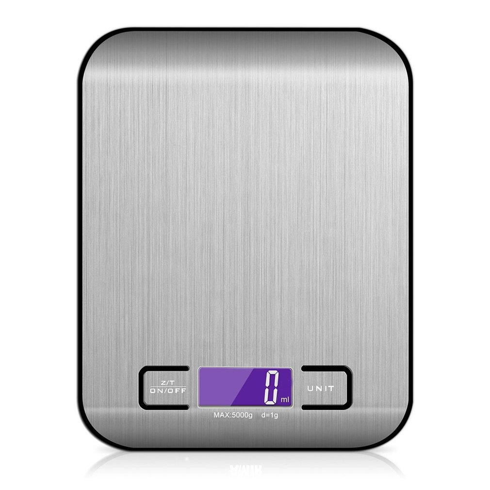 Digital Kitchen Scale Multifunction Rechargeable Food Scale With LCD Display High Accuracy Portable Food Scale