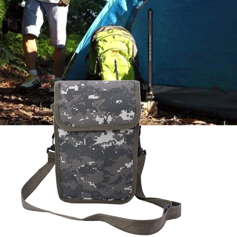 Metal Detector Bag Camo Oxford Waist Shoulder Belt Pouch Good Luck Gold Nugget Bags For Metal Detecting