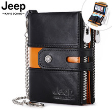 100% Cow Genuine Leather Wallet Men Coin Purse Mini Card Hol