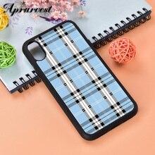 Aprarvest Белый Черный корова символ шаблон печати чехол для телефона чехол для iPhone 5 5S SE 6 6S 7 8 PLUS X XS XR MAX 11 PRO