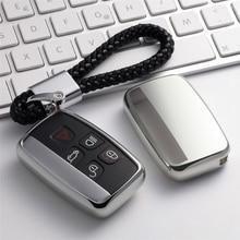 Etui na klucze TPU osłona na kluczyki samochodowe do Land rovera Range Rover Evoque Freelander 2 Discovery 3 4 etui na klucze obudowa Shell Smart Edition