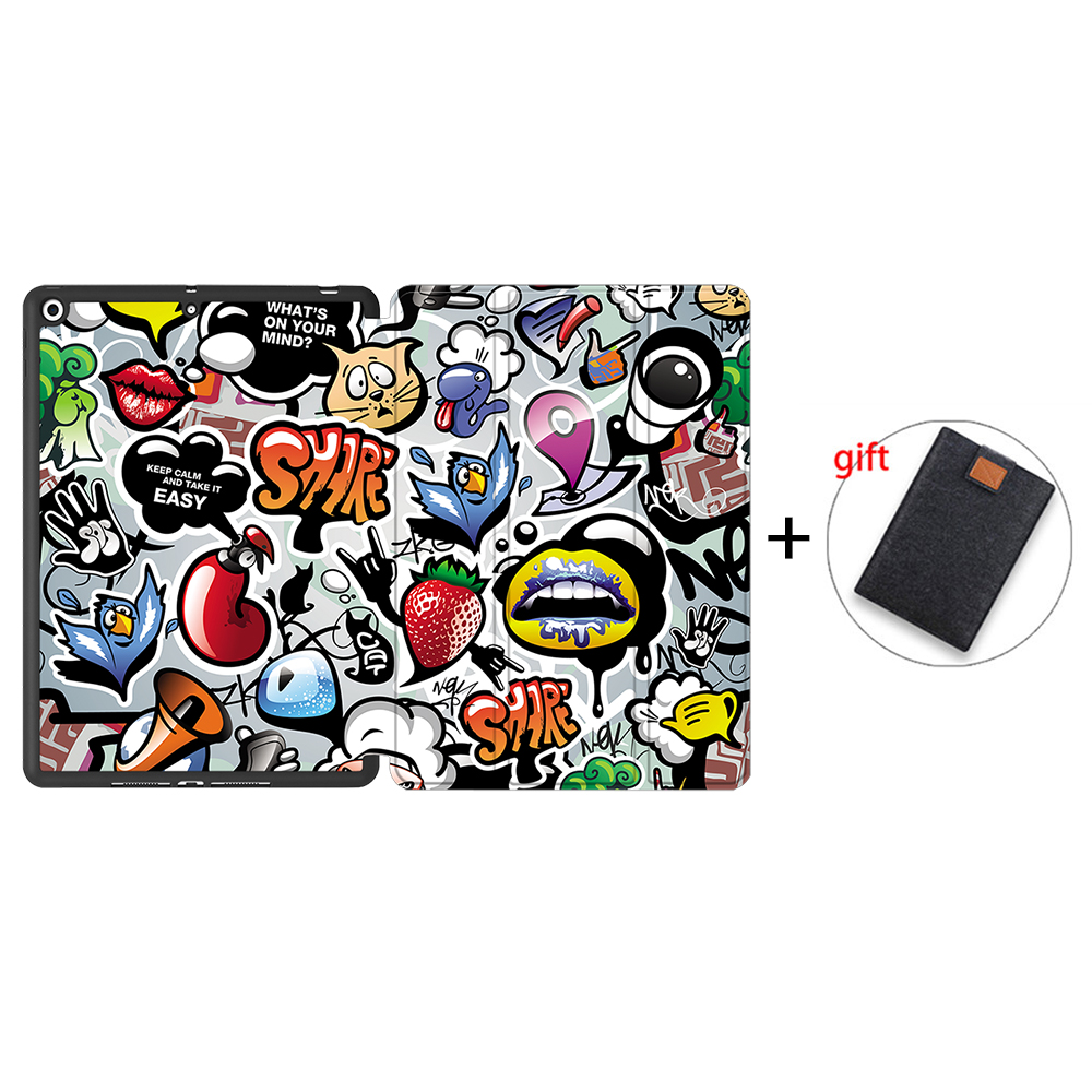 IPBC06 Yellow MTT Tablet Case For iPad 10 2 inch 7th 8th Generation 2020 Soft TPU PU Leather