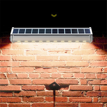 Super Bright LED Solar Powered Panel Street Wall Washers Light Waterproof Home Garden Outdoor Lamp Spotlight Garland Decor 3