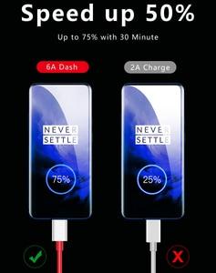 Оригинальный зарядный кабель Oneplus Nord N10 с деформацией, Type-C, 6A, быстрая зарядка для One Plus 8, 7 Pro, 7 t, 7 T, 6t, 6, 5t, 5, 3t, зарядное устройство с деформацией