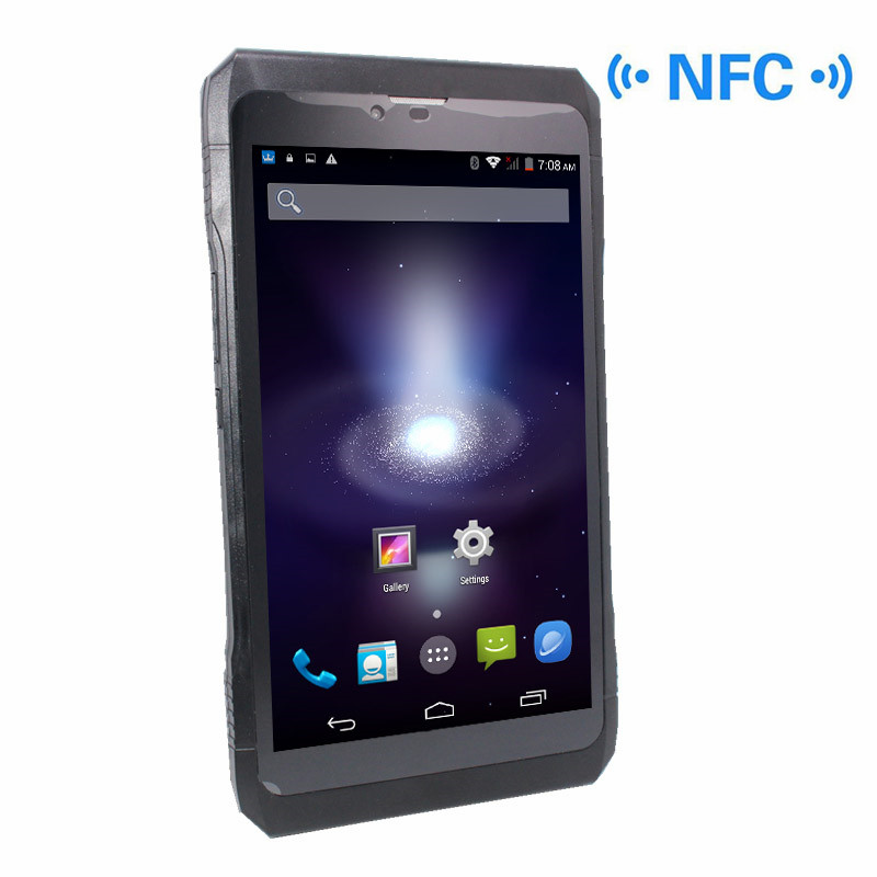7inch NFC 3G Phone Call  MTK6582 Tablet PC OTG Quad Core Android 4.4 1GB/8GB 1024x 600 Tablet WIFI Capacitive Touch Screen(G+P)