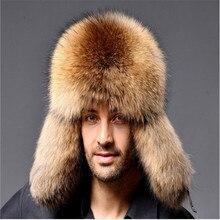 Ushanka 2020 Russian Leather Men Women Fur Faux Ski Cap Winter Warm Unisex Thermal Hat