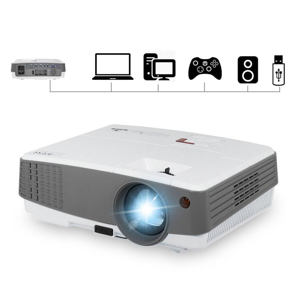 600d + проектор домашний проектор Hd светодиодный мини прочный проектор мини проектор - 3