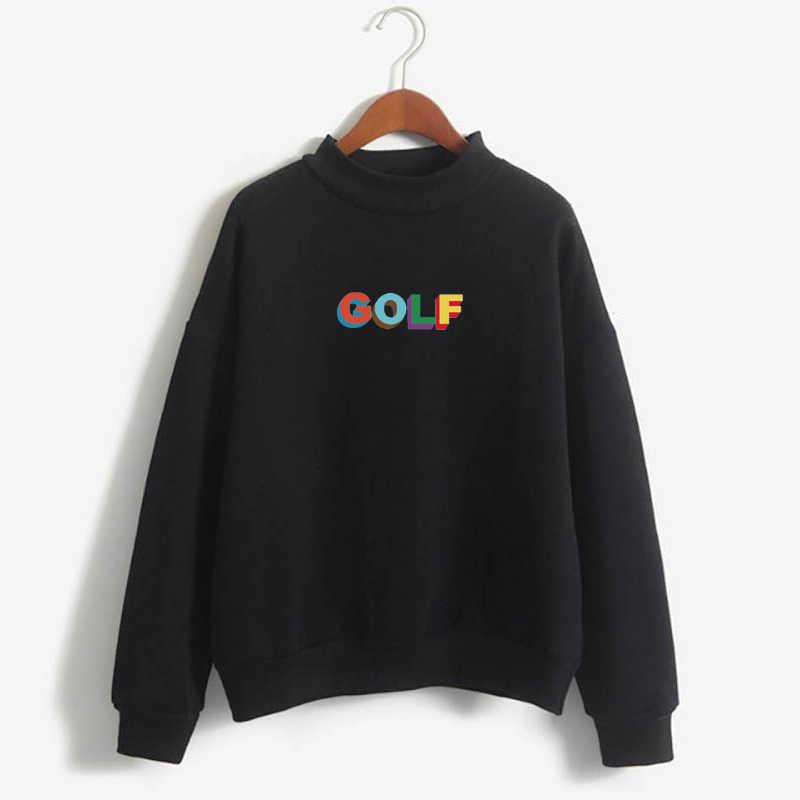 2020 Mới GOLF LOGO Màu TYLER Người Tạo Ra Áo Hoodie Tyler Người Tạo Ra Golf Golfwang Golf Vương Anh Đào Bom Golfwang Áo