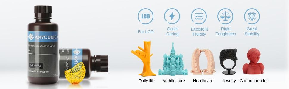 ANYCUBIC 3D Printer Universal Resin 405nm 7
