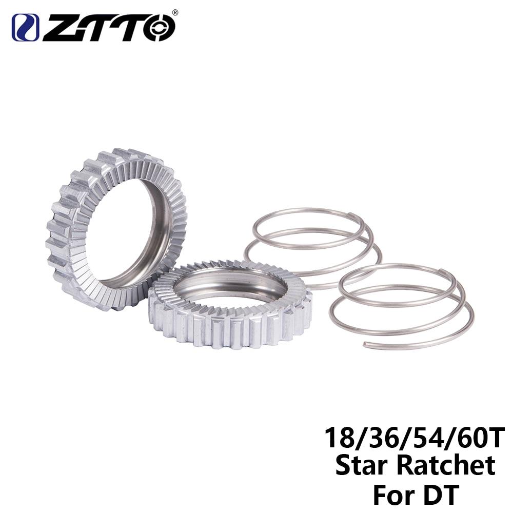 ZTTO велосипедная ступица MTB Услуги комплект Star с трещоткой SL 54 ЗУБЫ 36 зубов 18 зубов 60t для DT 60T 54 T 36 T 18 концентратор Запчасти горный велосипед к...