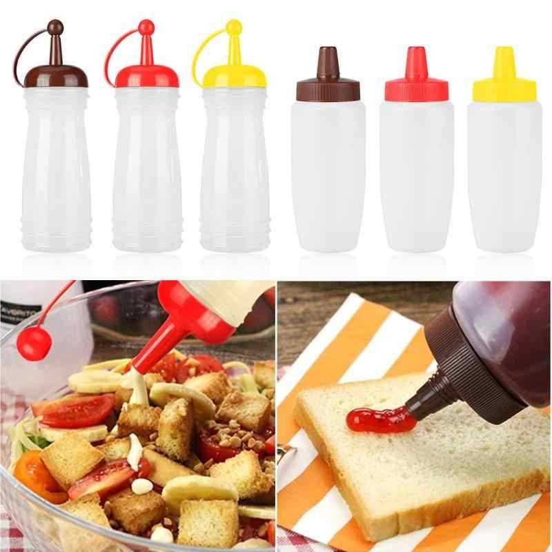 キッチンプラスチック調味料ディスペンサーため醤油酢オイルケチャップディスペンサーキッチンアクセサリー