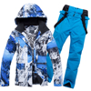 Men's Ski Suit Snow Skiing Set Camouflage Thermal Waterproof Windproof Male Winter Outdoor Sport Snowboard Ski Jackets and Pants